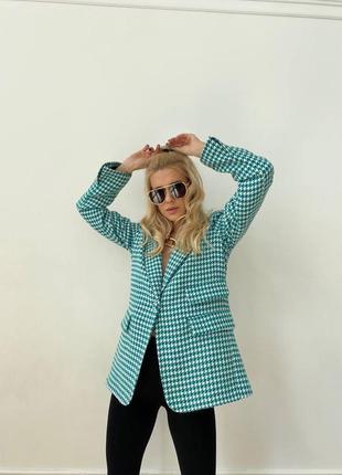 Пиджак удлиненный блейзер3 фото