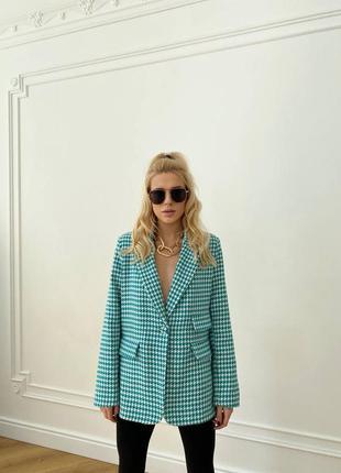 Пиджак удлиненный блейзер1 фото