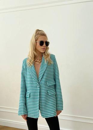 Пиджак удлиненный блейзер2 фото