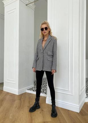 Пиджак удлиненный блейзер7 фото
