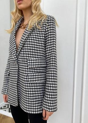 Пиджак удлиненный блейзер9 фото