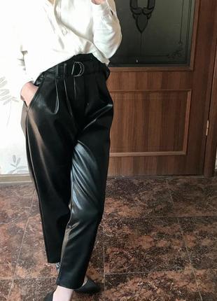 Кожаные штаны dilvin 🌸