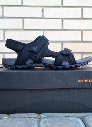 Мужские сандалии merrell sandspur lee backstrap оригинал. натуральная кожа.