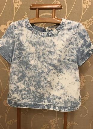 Очень красивая и стильная брендовая блузка..100% lyocel 19.