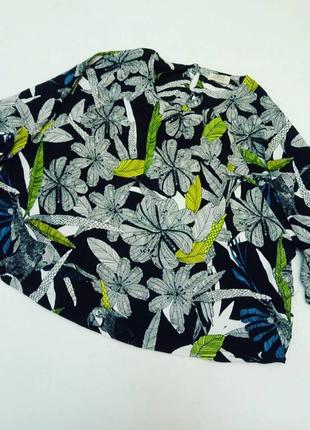 Кроп топ блуза с рисунком сафари papaya