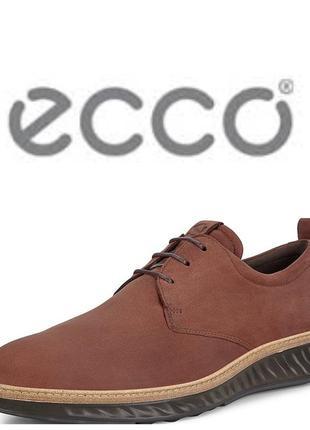 Кожаные туфли экко ecco st 1 hybrid оригинал р.44,45 новые португалия