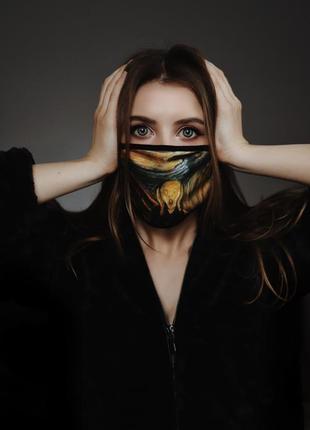 Защитная маска крик