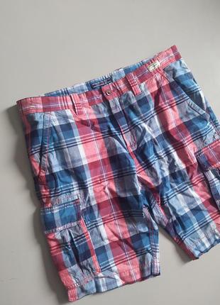 Красивые мужские шорты в клетку tommy hilfiger