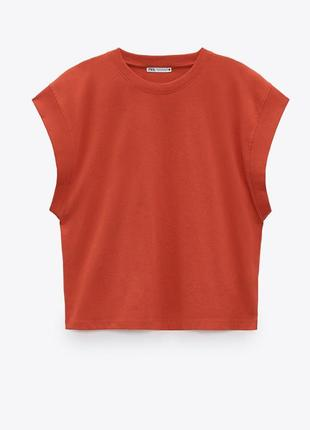 Zara жіноча футболка5 фото