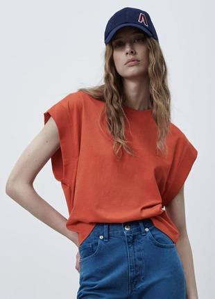 Zara жіноча футболка4 фото