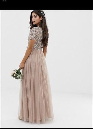 Сукня довга, вечірня. платье