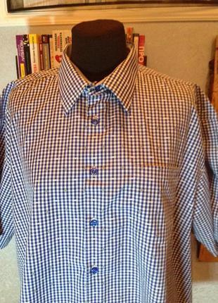 Натуральная рубашка бренда morgan, р. 56-58