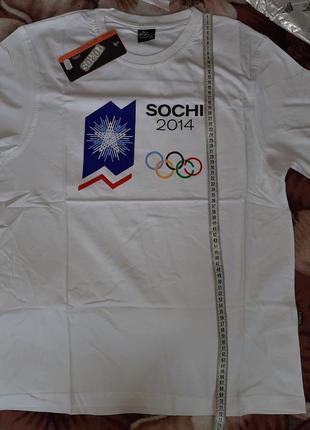 Футболка сувенир символ олимпиада 2014 сочи, toros, турция