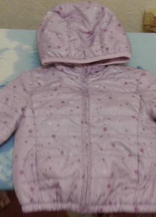 Продам легкую курточку на 9-12 месяцев,цена 50 грн