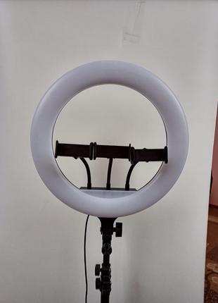 Кольцевая светодиодная лампа 35см со штативом  led кольцо набор блогера