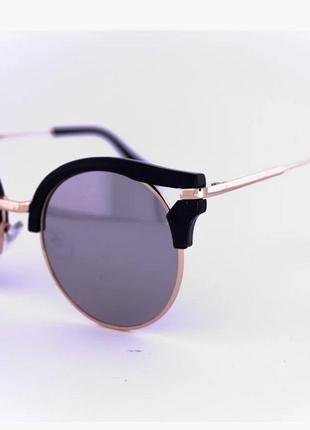 Женские гламурные очки очки с уникальным сочетанием двух стилей броулайнер и кошачий глаз