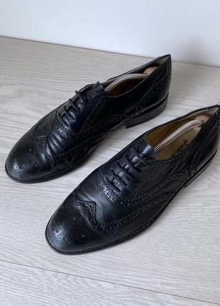 Туфли броги оксфорды schuh