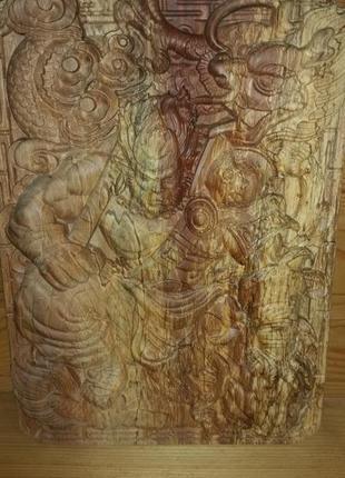 Деревянная  картинка
