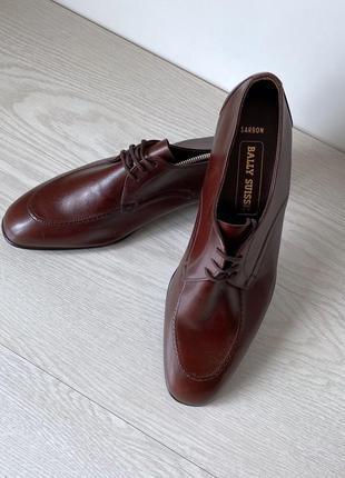 Туфли броги оксфорды bally