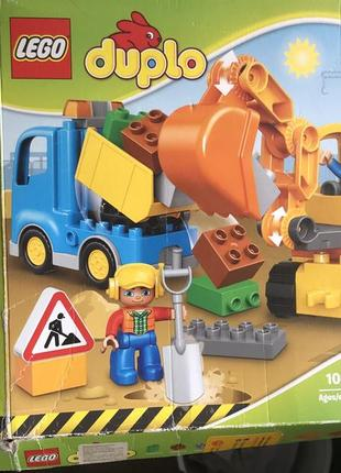 Lego duplo стройка 10812