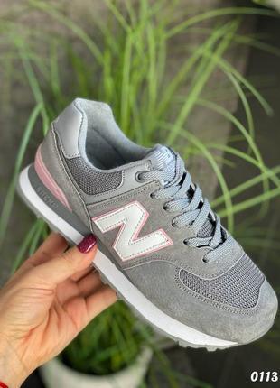 Натуральная замша, кроссовки 🌷