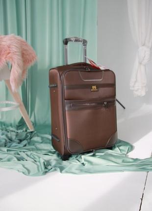 Коричнева валіза misely чемодан