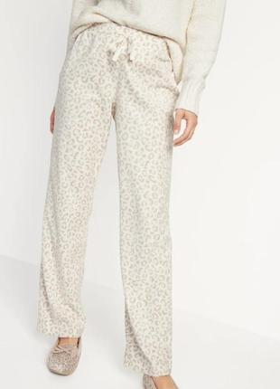 🔥 скидка🔥 домашние брюки пижама 🐆 флисовые штаны