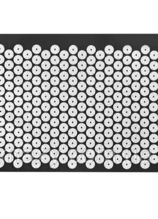 Ортопедический массажный коврик acupressure mat черный