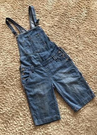 Комбінезон джинсовий, розмір л