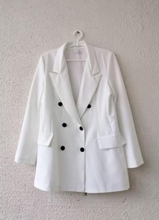 Шикарный удлиненный пиджак, жакет