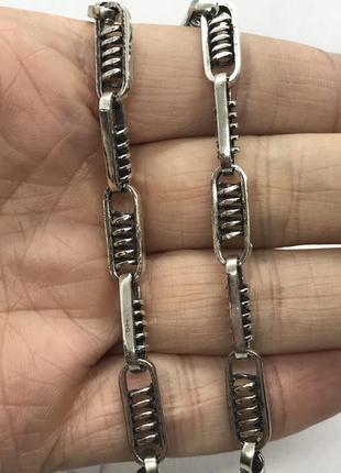 Новая оригинальная серебряная цепочка серебро 925 пробы 60 см