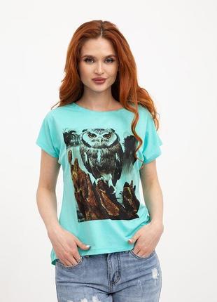 Эффектная футболка сова качество бомба s m l
