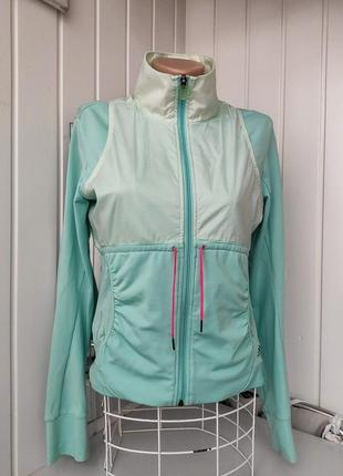 Куртка без бега ветровка мятного цвета adidas