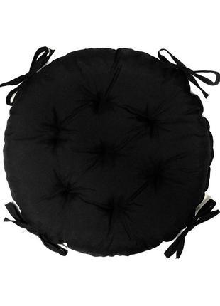 Подушка на стілець зі зав'язками