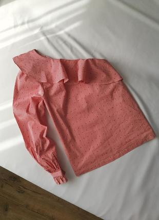 Блуза на одно плечо new look