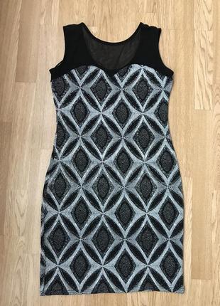 Плаття сукня платье в паетки