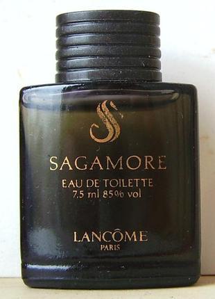 Lancome sagamore - edt - 7.5 мл.орігінал. вінтаж