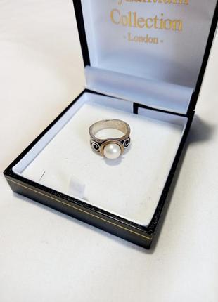 Серебряное кольцо  israel