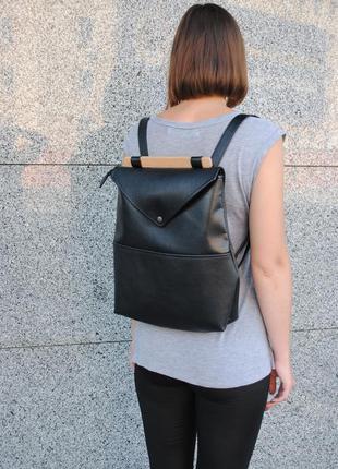 """Городской рюкзак """"skins black"""" черный"""