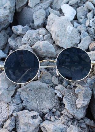 Новый круглые женские солнцезащитные очки круглая оправа