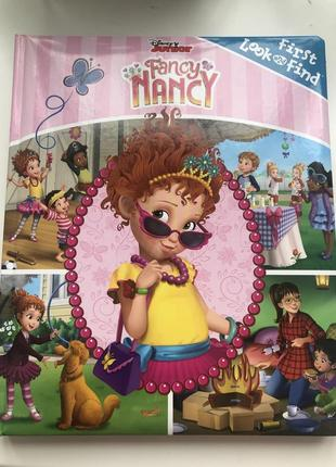 Дитяча книга fancy nancy first look and find англійською мовою