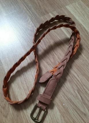 Плетений ремінь/ремінь косичка terranova