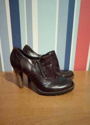 Распродажа!!! женские кожаные ботильоны ботинки бренд bianco