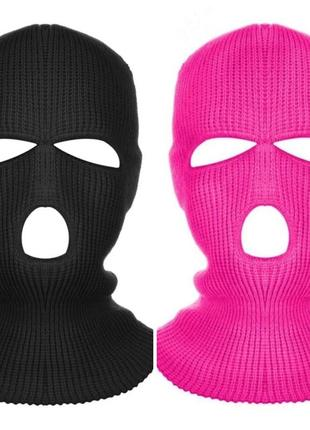 Балаклава маска (бандитка 3), унисекс