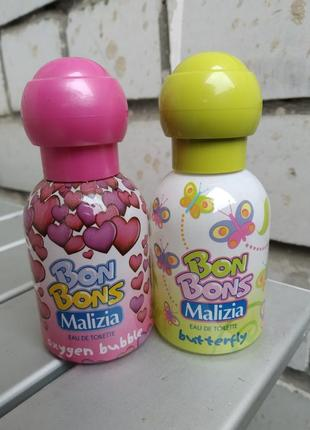Bon bons детские духи 2 флакона, оригинал, италия
