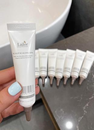Пилинг для глубокого очищения кожи головы scalp scaling spa ampoule