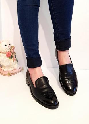 Суперстильные кожаные туфли#лоферы baggat италия