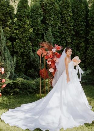 Супер свадебное платье2 фото