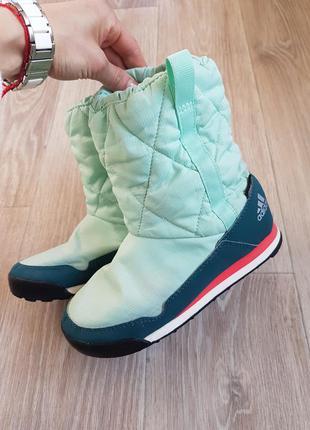 Сапоги зимние детские adidas