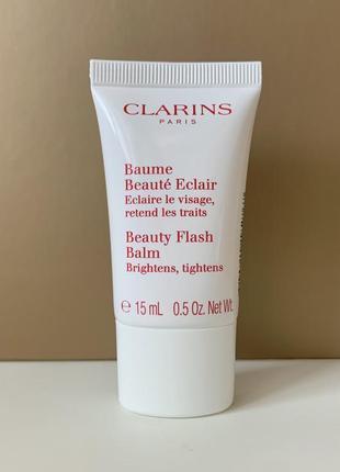 Восстанавливающий бальзам clarins beauty flash balm baume beauté éclair 15 мл